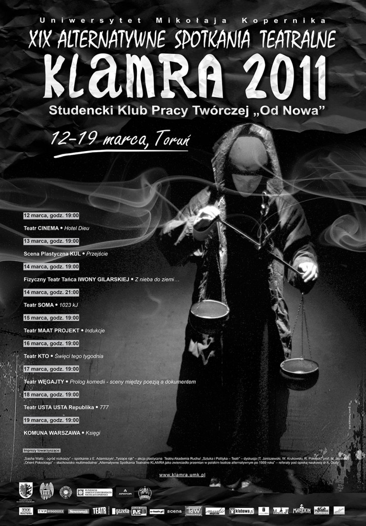 KLAMRA_2011-plakat